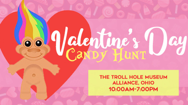 Valentine's Day Candy Hunt
