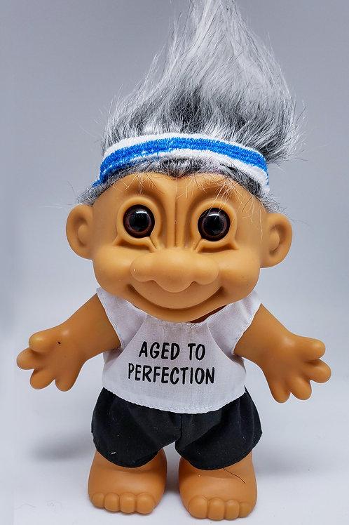 Vintage Russ Troll Doll - Athletic Senior [RARE]