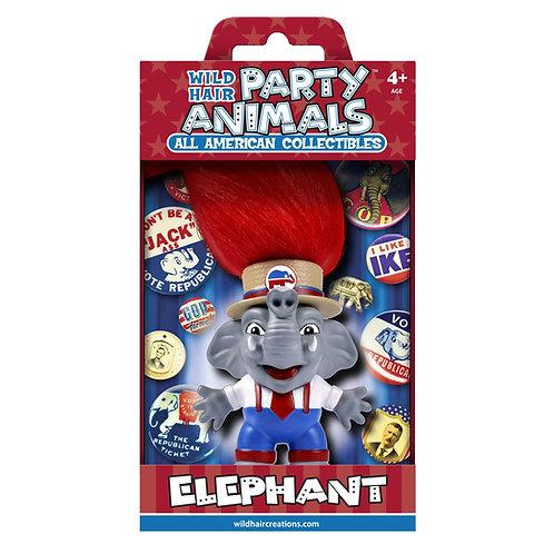 GOP Elephant - Wild Hair Creations