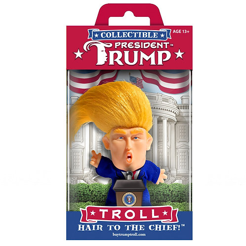 President Trump Troll - Wild Hair Creations