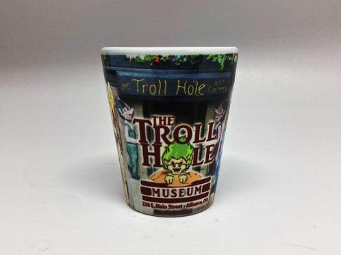 Troll Hole Shot Glass