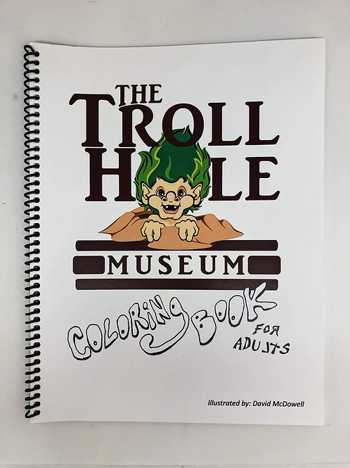 Troll Hole Coloring Book