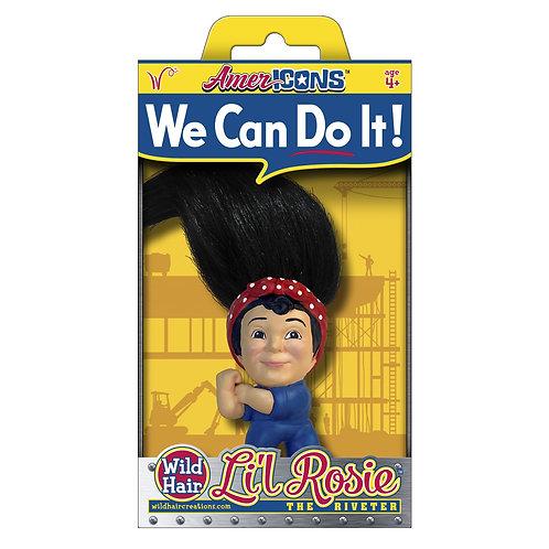 Li'l Rosie the Riveter - Wild Hair Creations