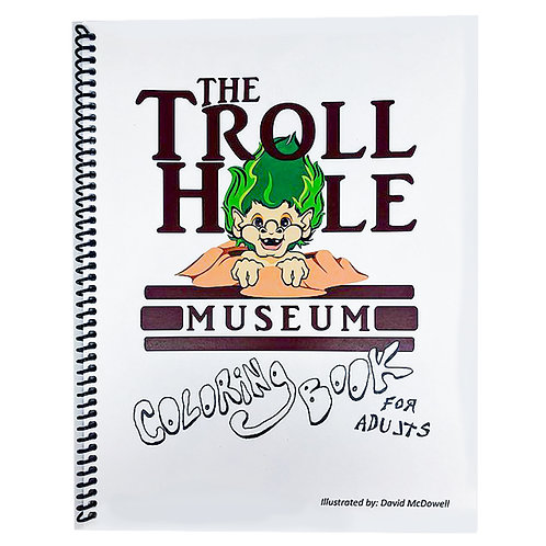 The Troll Hole Coloring Book