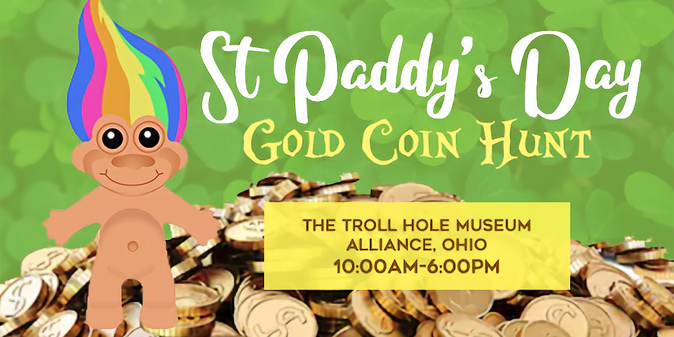 St Paddy's Day Gold Coin Hunt