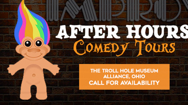 After-Hours Comedy Tours at the Troll Hole Museum