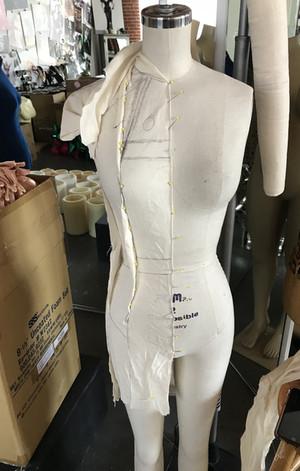Front View Dress Drape