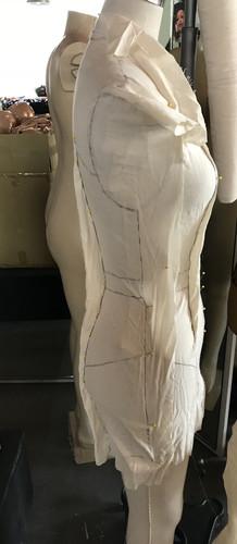 Side View Dress Drape