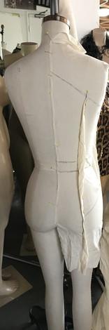 Back View Dress Drape