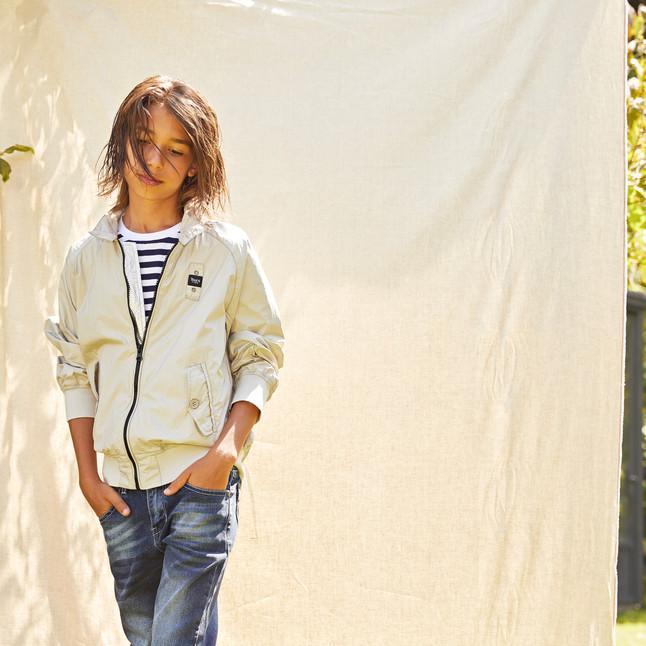Yours by 02Tandem Abbigliamento - Bambino con felpa e jeans - Coll. Estate 2021 - Junior 8 - 16 anni