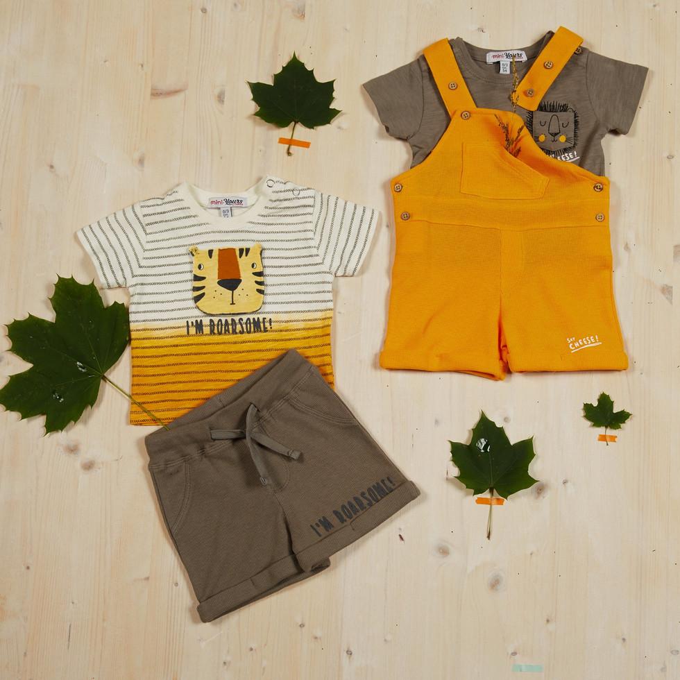 Yours Abbigliamento - Completi per neonati - Coll. Estate 2021  Culla 0 - 6 mesi - Yours by 02Tandem
