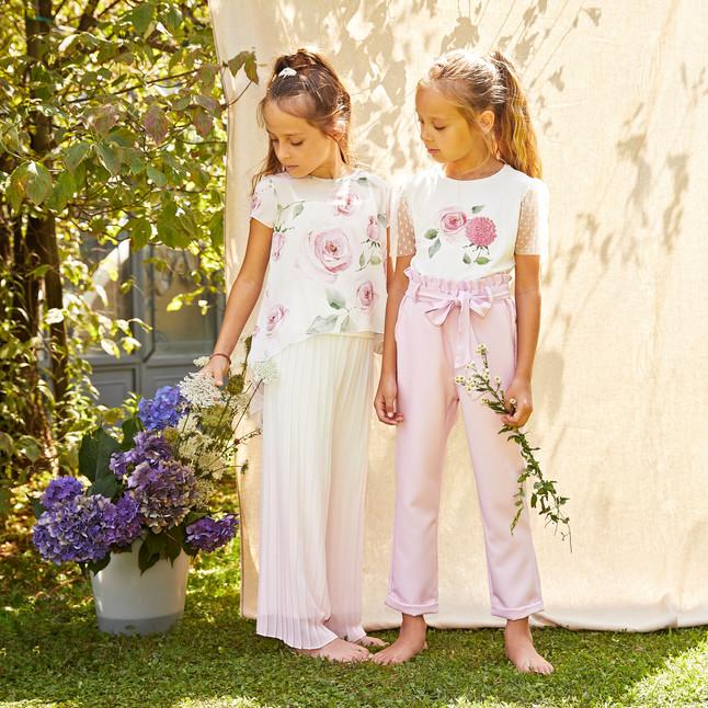 Yours by 02Tandem Abbigliamento - Bambina con abito cerimonia - Coll. Estate 2021 - Junior 8 - 16 anni