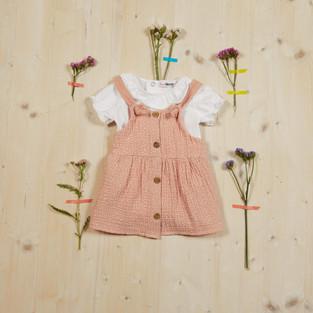 Yours Abbigliamento - Abito per neonata - Estate 2021 - Culla 0 - 6 mesi - Yours by 02Tandem