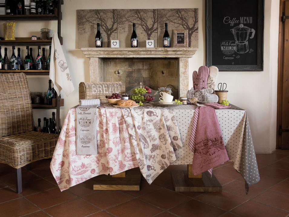 Biancheria per la cucina Siretessile