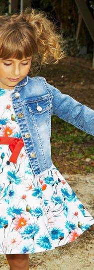 Yours Abbigliamento - Bambina con giacca di jeans - Coll. Estate 2021  Baby 3- 7 anni Yours by 02Tandem