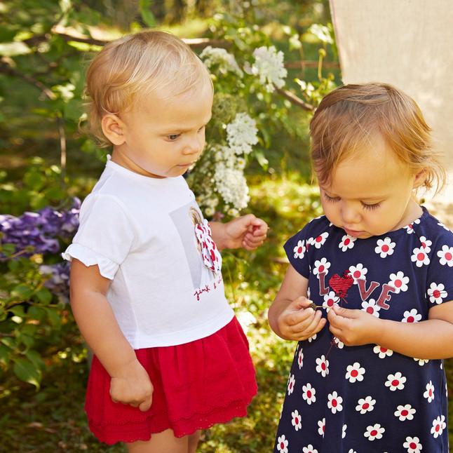 Yours Abbigliamento - Yours by 02Tandem -Bambine con abiti - Coll. Estate 2021 - Newborn 0 - 30 mesi