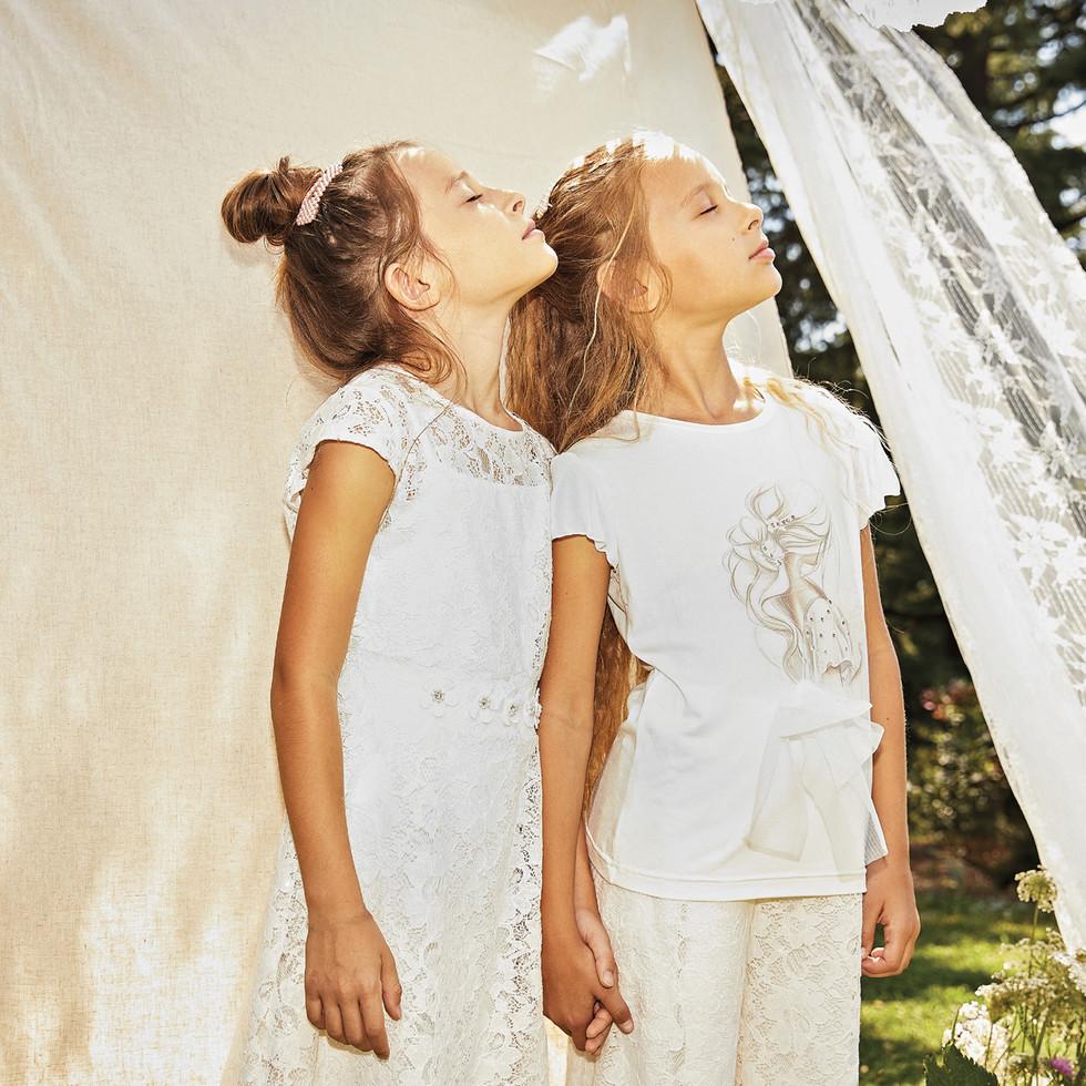 Yours by 02Tandem Abbigliamento - Bambine abito cerimonia - Coll. Estate 2021 - Junior 8 - 16 anni