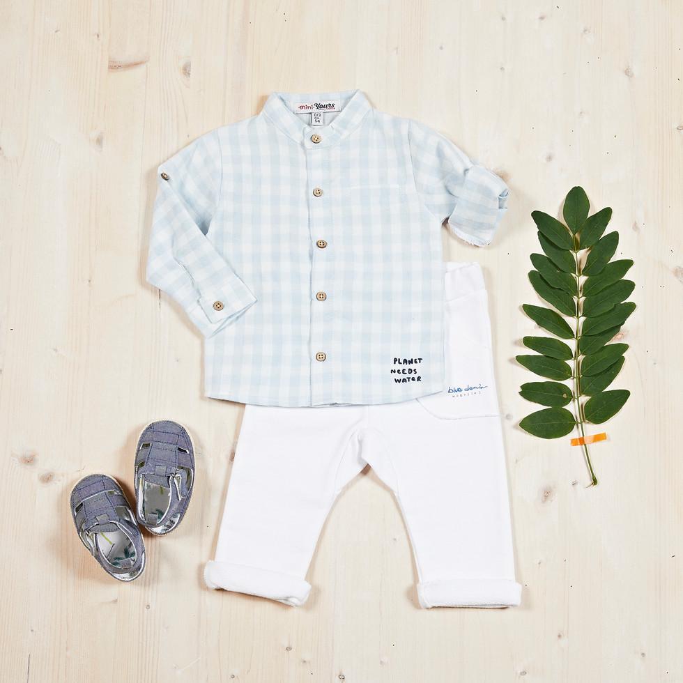Yours Abbigliamento - Completo per neonato - Estate 2021  Culla 0 - 6 mesi - Yours by 02Tandem