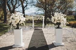 Ice Sculpture, ice arch, wedding arch: Millbrook Resort, Queenstown