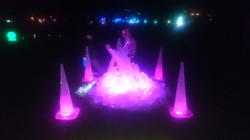 LUMA Light festival, Ice Sculpture, Queenstown Gardens