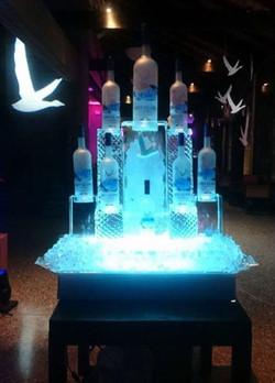 Grey Goose Ice Sculpture, Branding, marketing event, Jacks Point, Queenstown