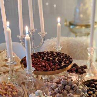 Truffle dessert table