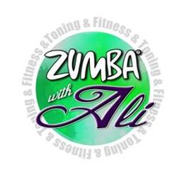 Zumba w-Ali logo