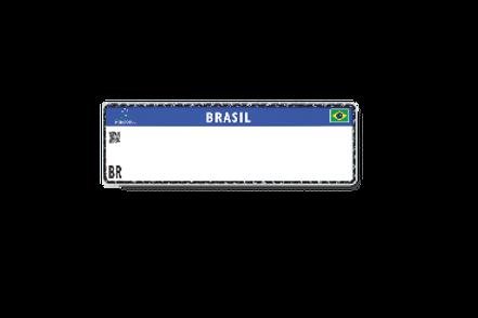 Placas Veiculares Padrão Mercosul