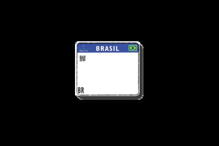 Placas para Motos Padrão Mercosul