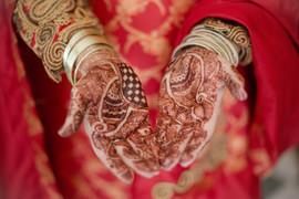 Pakistani wedding mehndi