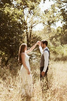Fayetteville, Arkansas wedding photo