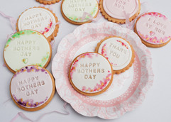 Mothers Day biscuits
