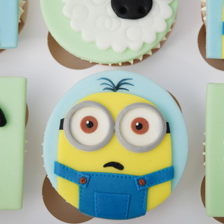 Minions & Shaun the Sheep cupcakes
