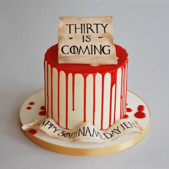 Game of Thrones Theme cake