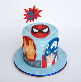 Marvel Superheros cake