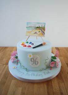 Painting Inspired cake