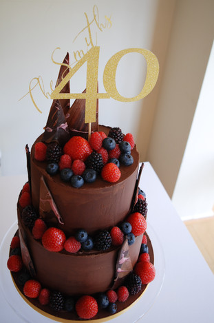 Chocolate and Berries