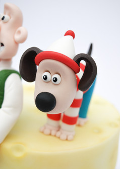 Wallace & Gromit cake