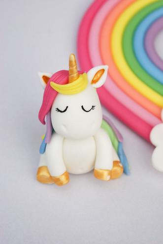 Rainbow and Unicorn topper