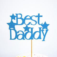 Best Daddy cake topper