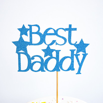 Best Daddy cake topper