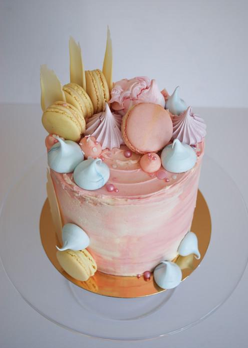 Pastel Puttercream cake