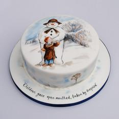 The Snowman cake
