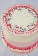 Buttercream Ruffle cake