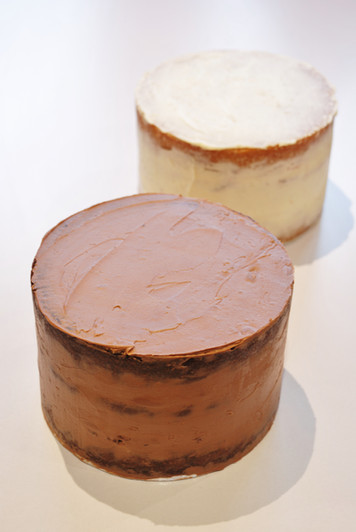 Simple Ganached cakes