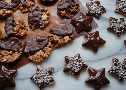 Florentines and Mini Biscuits