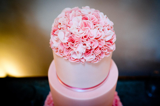 Romantic Ruffle Cake