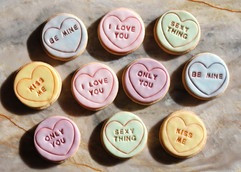 Large Love Heart Cookies