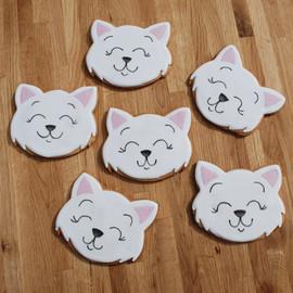 Cute Kitten Cookies
