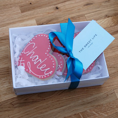Gift Boxed Heart Cookies